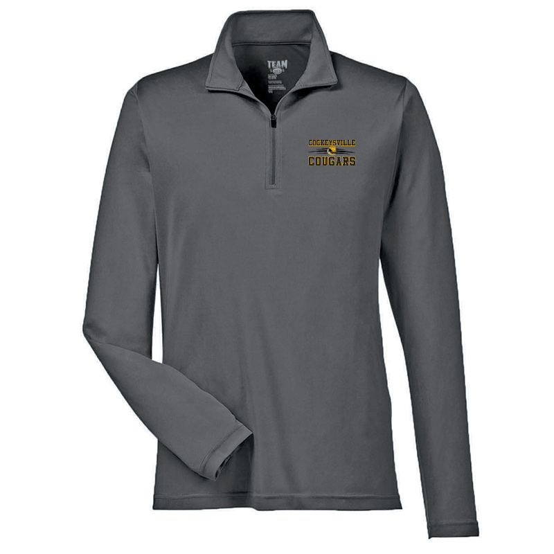 CMS Team 365  Performance Quarter-Zip - Sport Graphit