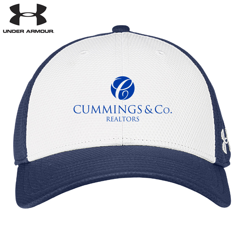 Cummings & Co Under Armour Color Blocked Cap - Royal/White