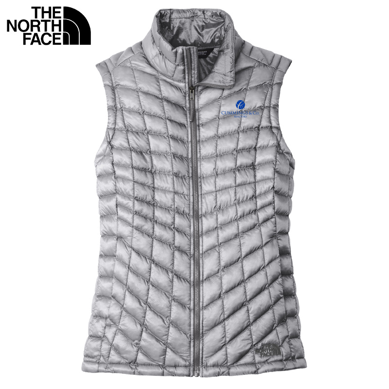 Cummings & Co The North Face® Ladies ThermoBall™ Trekker Vest - Mid Grey