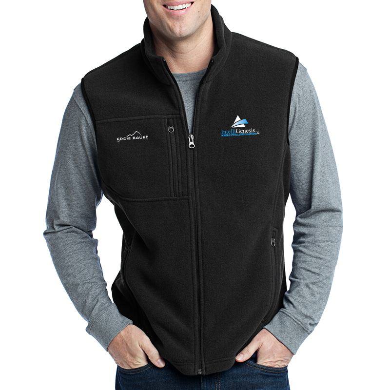IntelliGenesis Eddie Bauer Fleece Vest