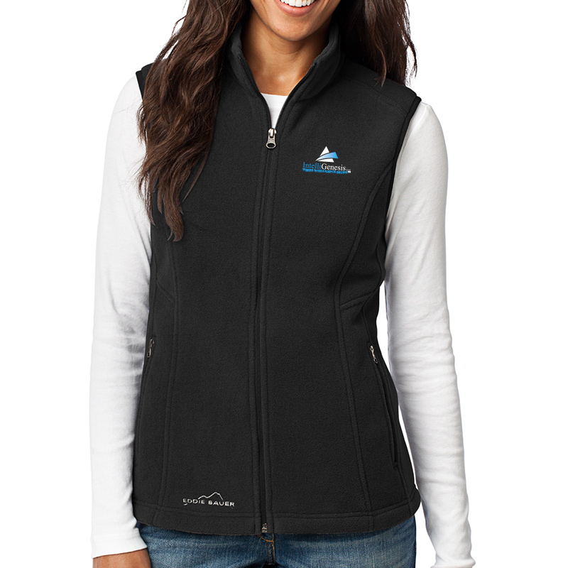 IntelliGenesis Eddie Bauer Ladies Fleece Vest