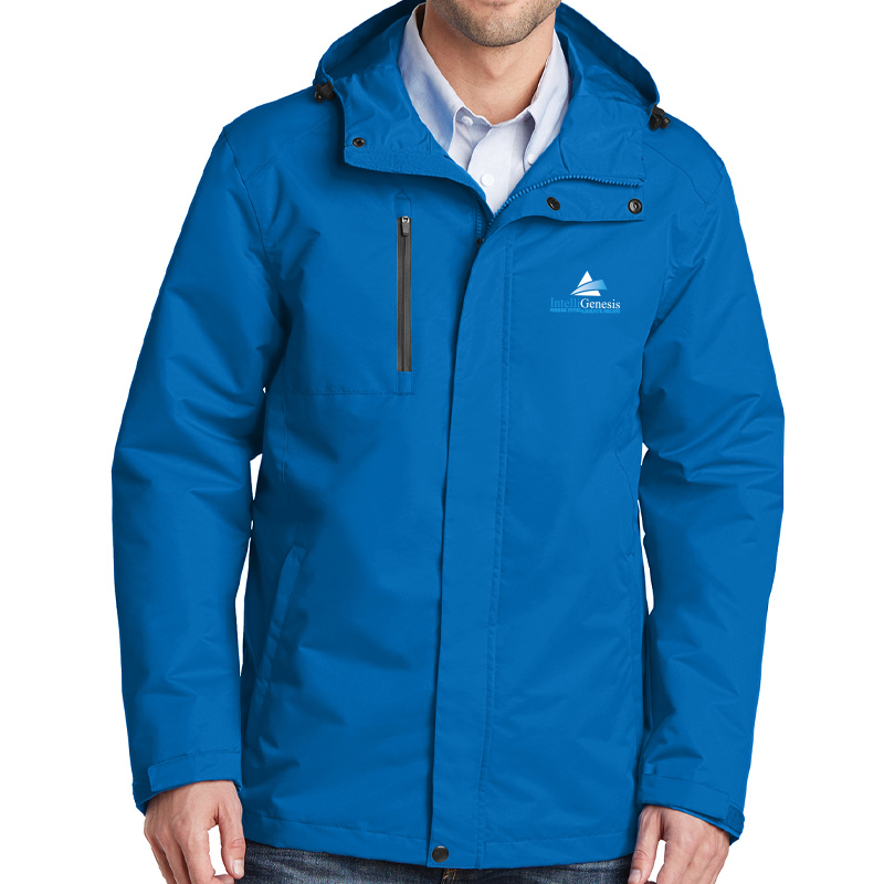IntelliGenesis Port Authority  All Conditions Jacket - Royal