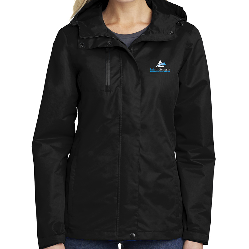 IntelliGenesis Port Authority Ladies All Conditions Jacket - Black