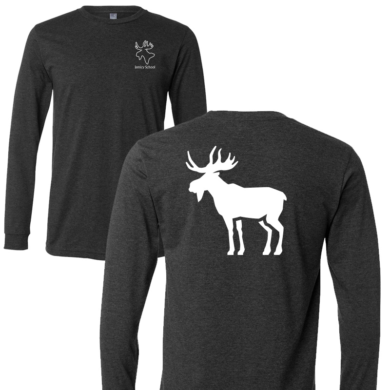 Jemicy Moose L/S - Dark Heather Grey