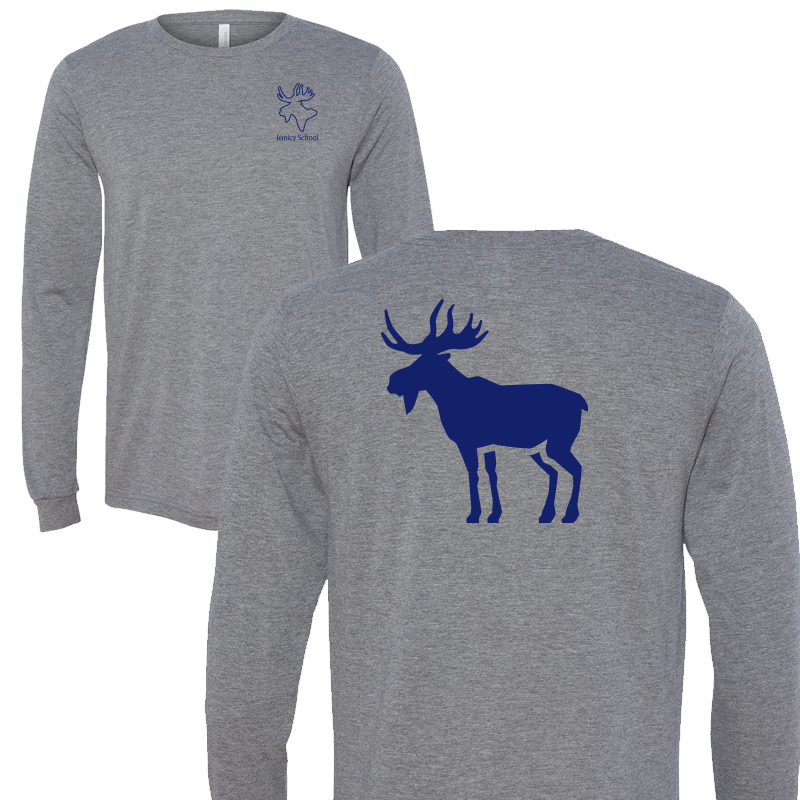 Jemicy Moose L/S - Grey Triblend