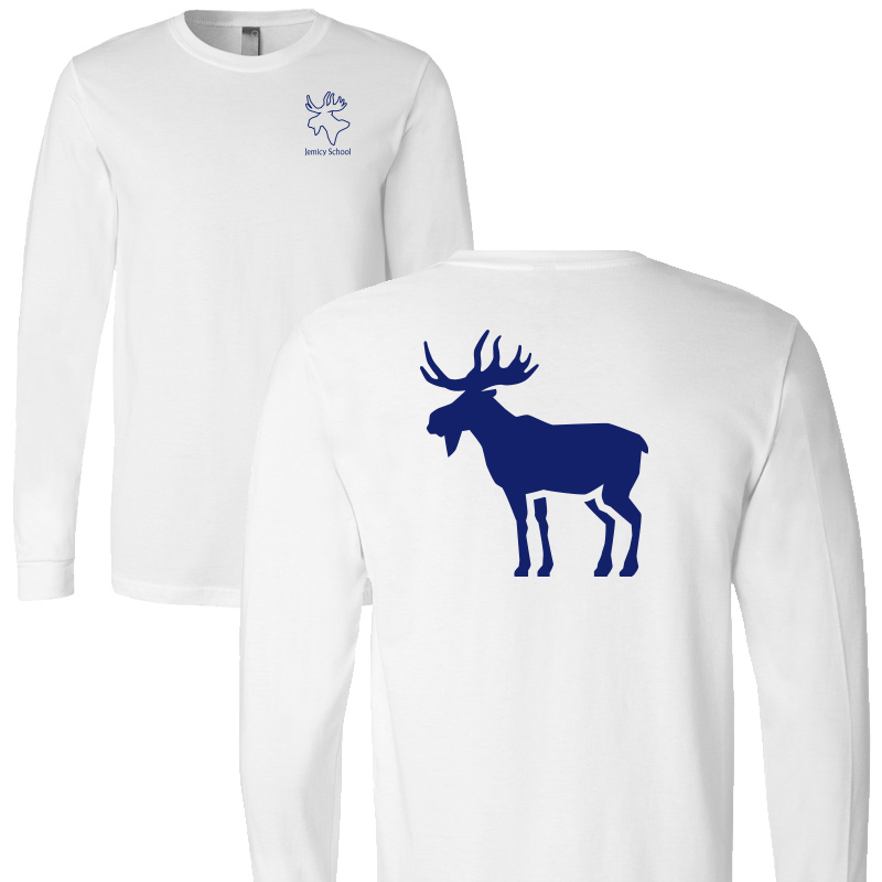 Jemicy Moose L/S - White