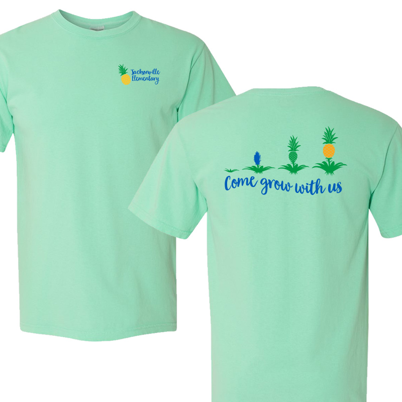 JES Come Grow With US Short Sleeve Tee - Island Reef