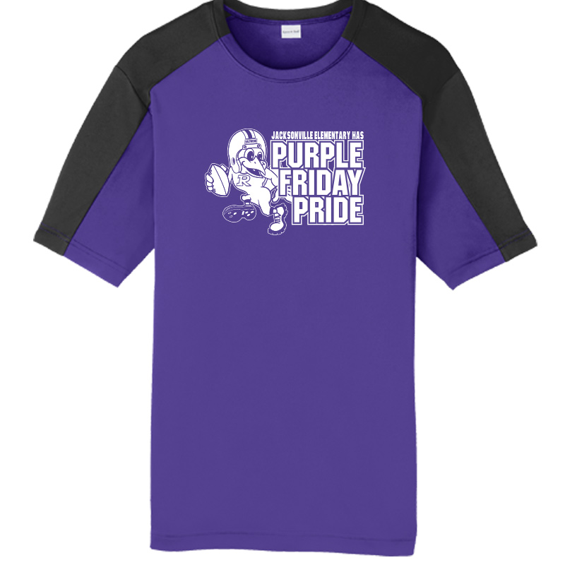 JES Purple Friday  Colorblack Tee -