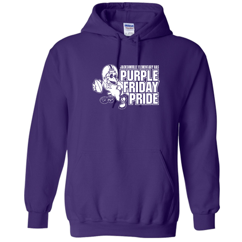 JES Purple Friday  Hoodie -