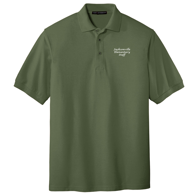 JES  Silk Touch Polo - Clover Green