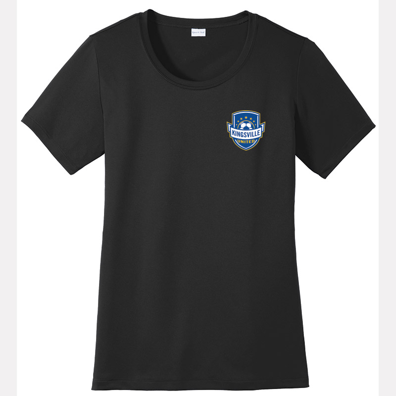 Kingsville United -Ladies Posicharge Tough Tee