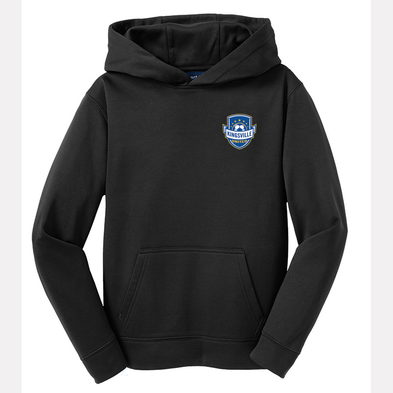 Kingsville United - Youth Fleece Hooded Pullover