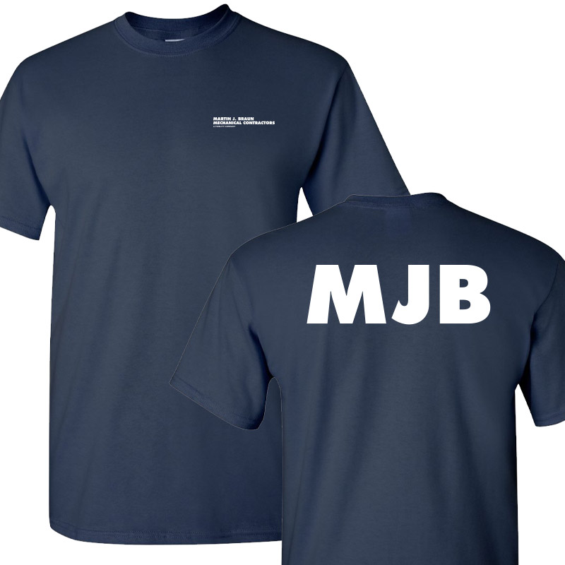 MJB Short Sleeve Tee - Navy