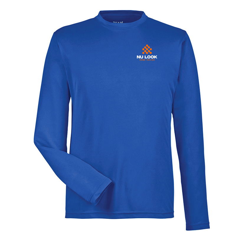 Nu Look Home Design Team 365 Men's Zone Performance Long-Sleeve T-Shirt - Sport Royal