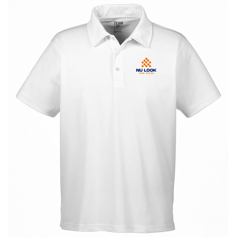 Nu Look Home Design Team 365 Men's Command Snag Protection Polo - White