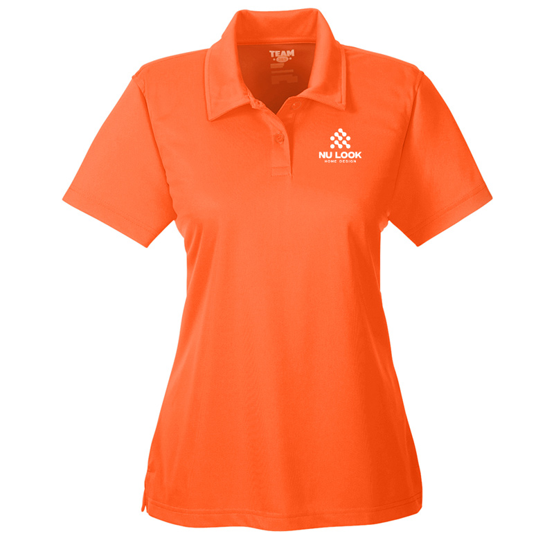 Nu Look Home Design Team 365 Ladies' Command Snag Protection Polo - Sport Orange