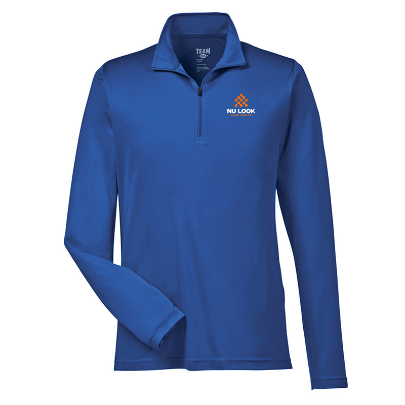 Nu Look Home Design Team 365 Men's Zone Performance Quarter-Zip - Sport Royal