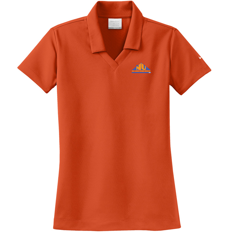 Nu Look Home Design Nike Ladies Dri-FIT Micro Pique Polo - Team Orange