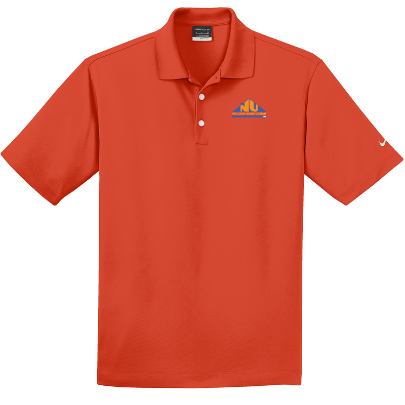 Nu Look Home Design Dri-FIT Micro Pique Polo - Team Orange