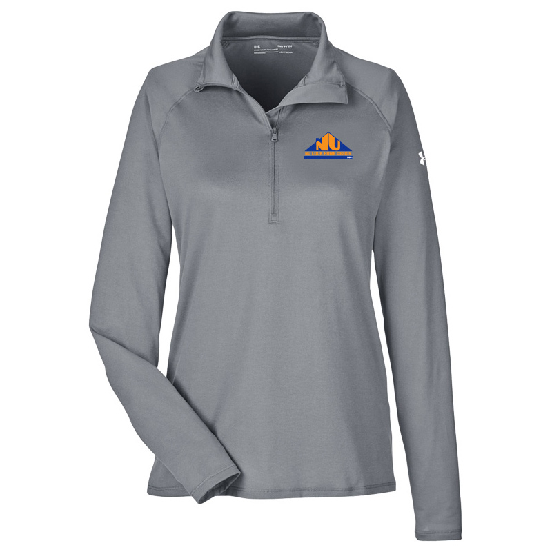 Nu Look Home Design UA Ladies Qualifier 1/4 Zip - Graphite