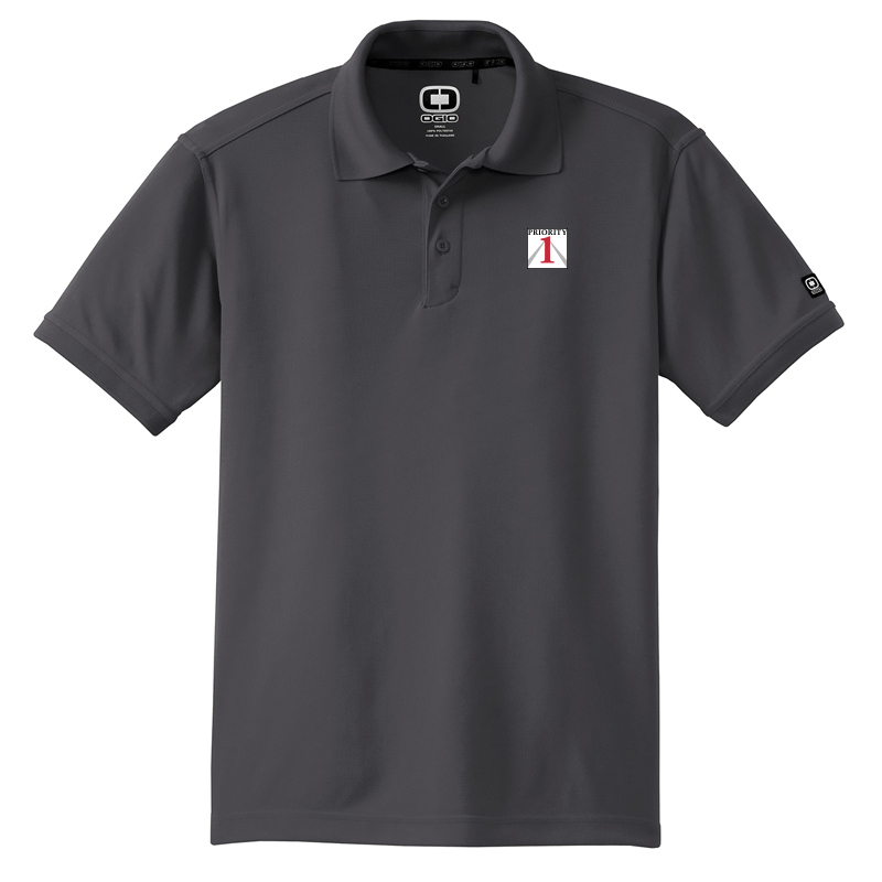 Priorirty 1 Auto Ogio Performance Polo Shirt - Diesel Grey