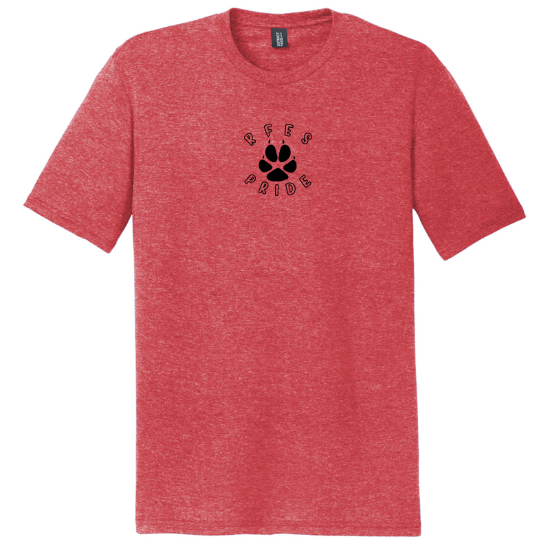 Ring Factory Elementary Perfect Tri Tee - Red Frost