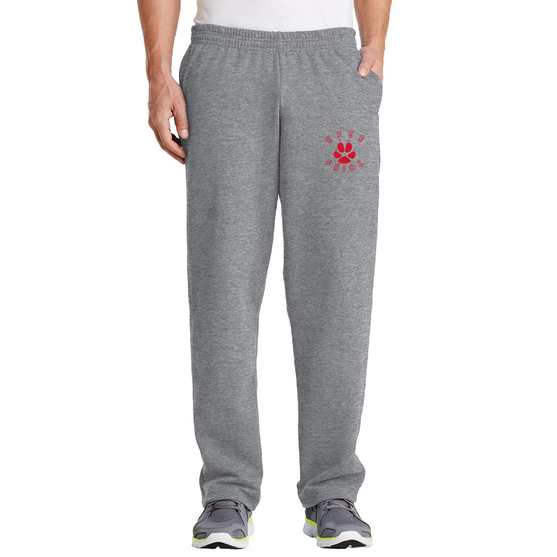 Ring Factory Elementary Core Fleece Sweatpant with Pockets - Athletic Heather