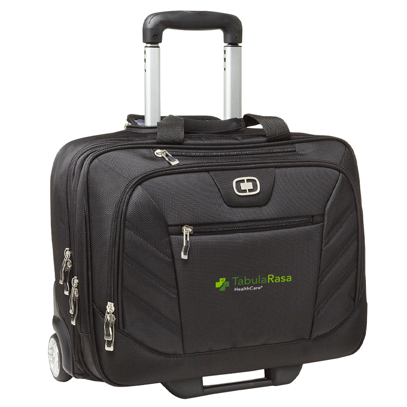 TRHC OGIO® - Lucin Wheeled Briefcase - Black