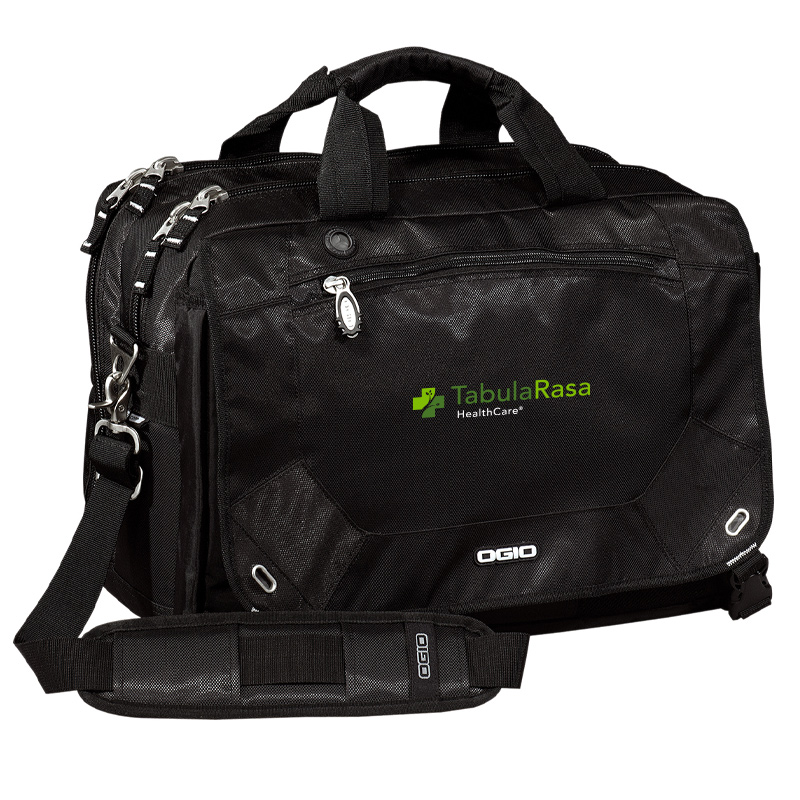 TRHC OGIO® - Corporate City Corp Messenger - Black