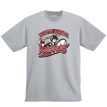 White Marsh 3/4 Sleeve Baseball Shirt