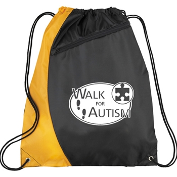 Walk for Autism Cinch Bag