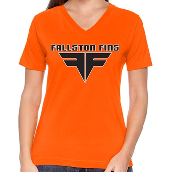 Fallston Fins Ladies V-Neck