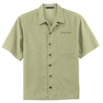 SYNAGRO Men's Easy Care Camp Shirt