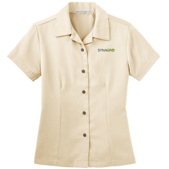 SYNAGRO Ladies' Easy Care Camp Shirt
