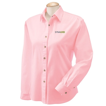 SYNAGRO Ladies' Long-Sleeve Titan Twill Dress Shirt