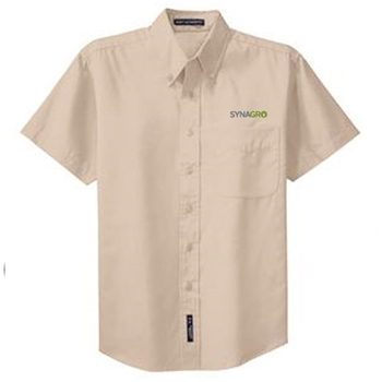 Synagro Short Sleeve Easy Care Shirt