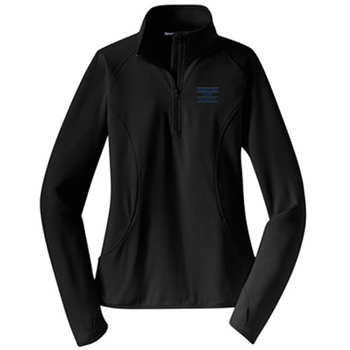 HDS Ladies Sport-Wick® Stretch 1/2-Zip Pullover