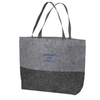 HDS Large Felt Tote Bag
