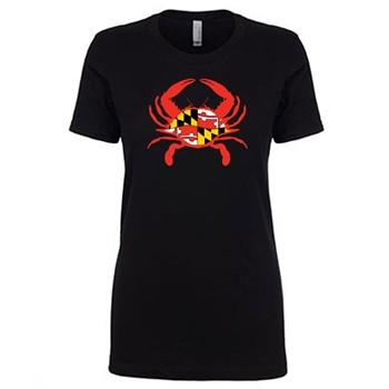 Mother's Large Crab - Ladies Crew Neck