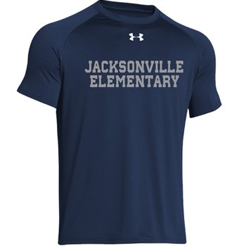 Jacksonville Elementary Text  Under Armour Youth  Locker T-Shirt