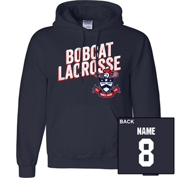 BAHS Boy's Lax Solid Heavy Weight Hoodie
