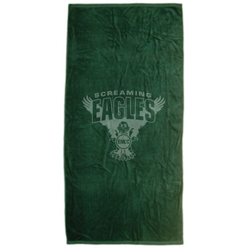 Eagles Nest Swim Team  TURKISH SIGNATURE MIDWEIGHT COLORED BEACH TOWEL