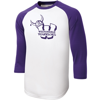 Wiltondale PosiCharge Baseball Jersey - Purple