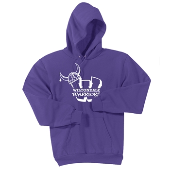 Wiltondale Pullover Hooded Sweatshirt - Purple