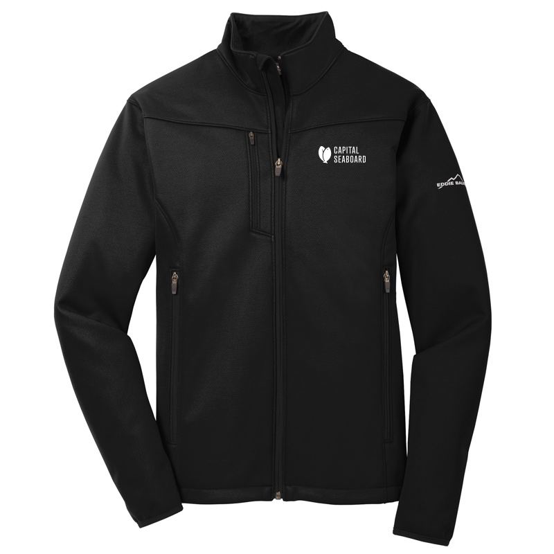 Capital Seaboard Eddie Bauer Weather Resist Soft Shell -Black
