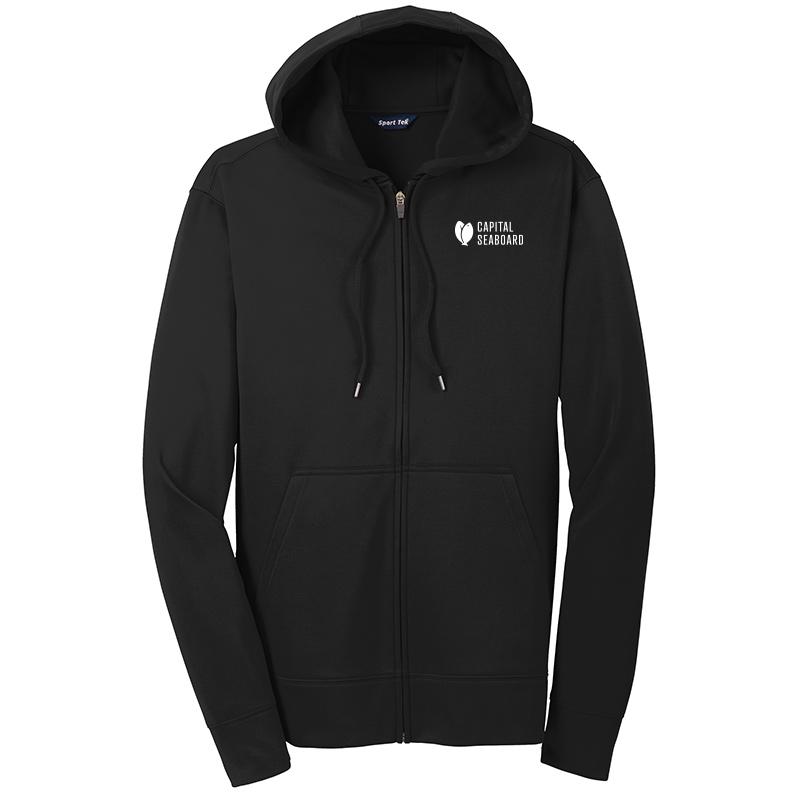 Capital Seaboard Sport Tek Sport Wick Fleece Jackets-Black