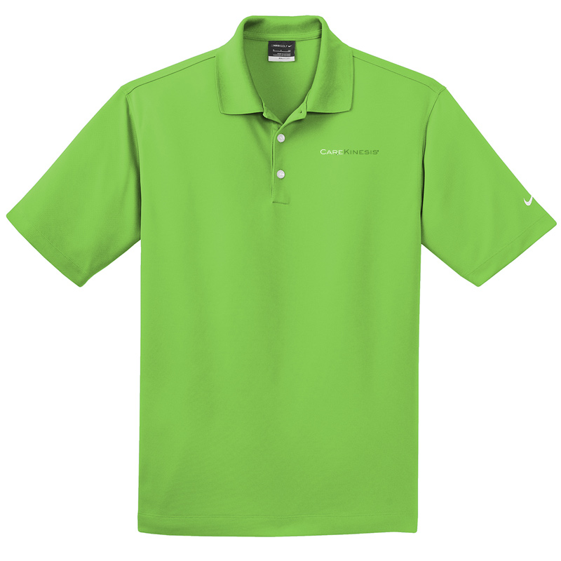 CareKinesis Nike Dri-FIT Micro Pique Polo - ActionGreen