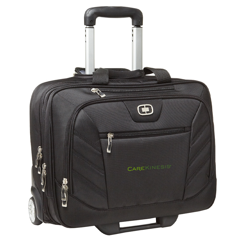CareKinesis OGIO® - Lucin Wheeled Briefcase - Black
