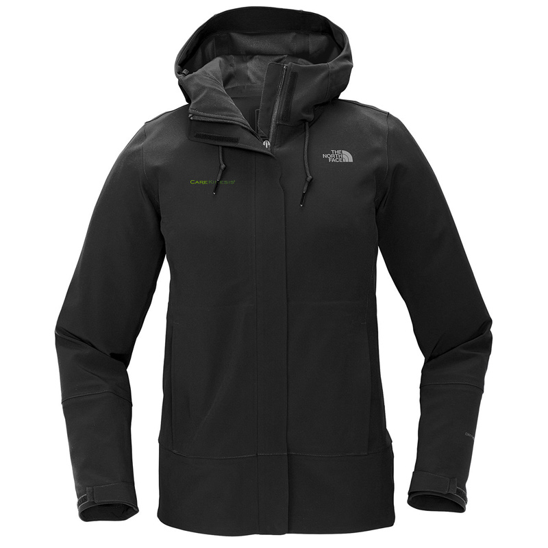 CareKinesis The North Face ® Ladies Apex DryVent ™ Jacket - Black