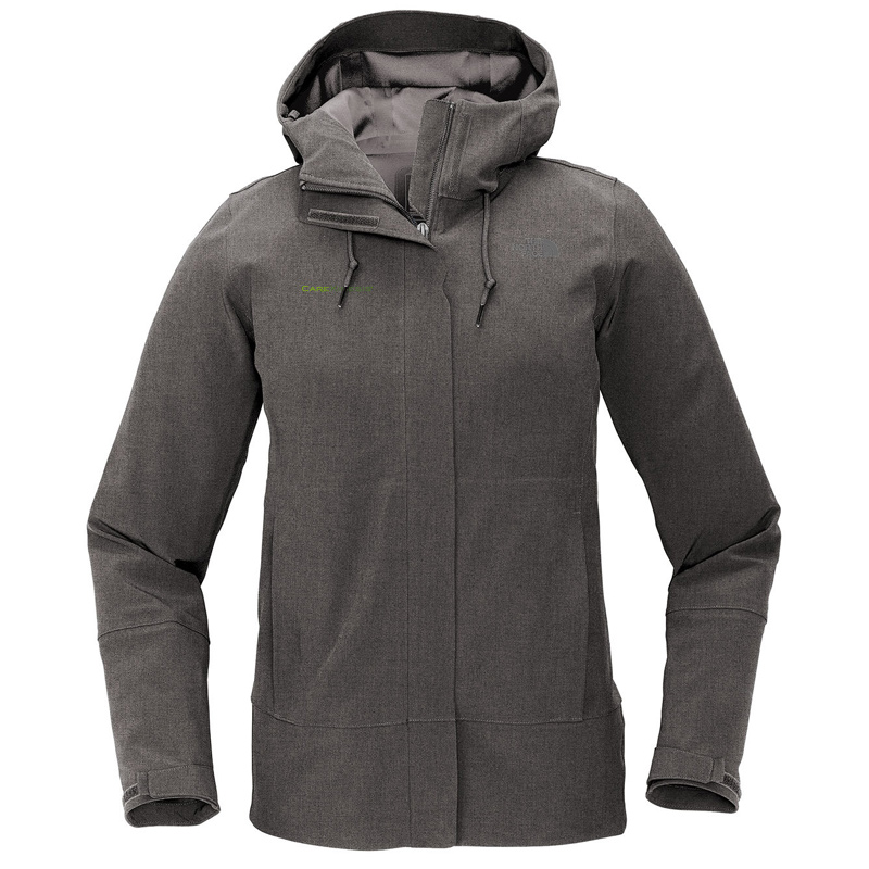 CareKinesis The North Face ® Ladies Apex DryVent ™ Jacket - DarkGreyHeather